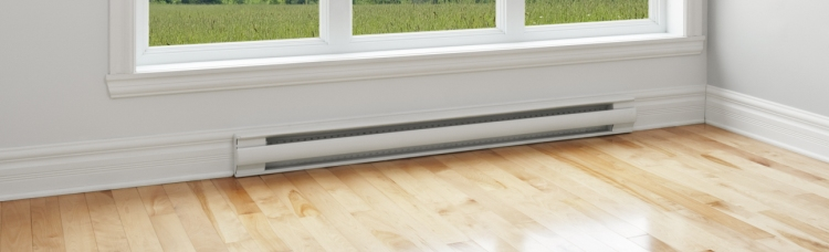 how to clean under baseboard heaters