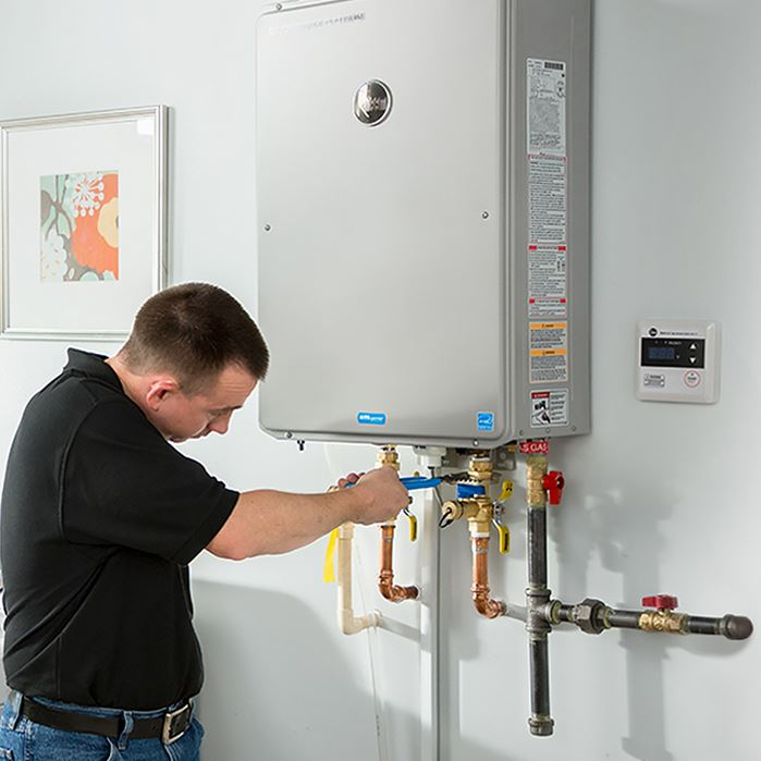 Installing a Tankless Water Heater
